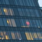 Spied a heart and a rainbow flag :)